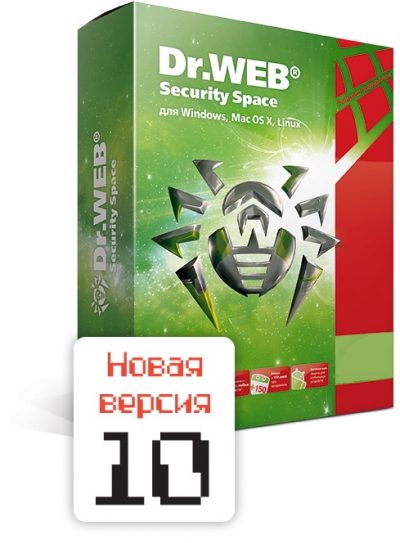 Dr.Web Security Space Лицензия на 1ПК