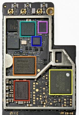 Схема разборки - сборки Apple